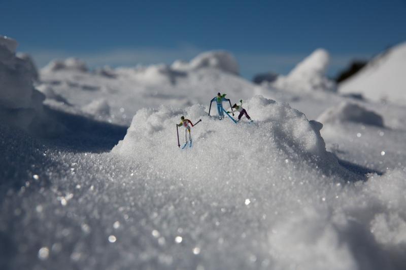 Skiing in Obertauern