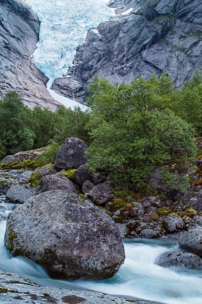 Norwegen 2012 - Briksdalsbreen
