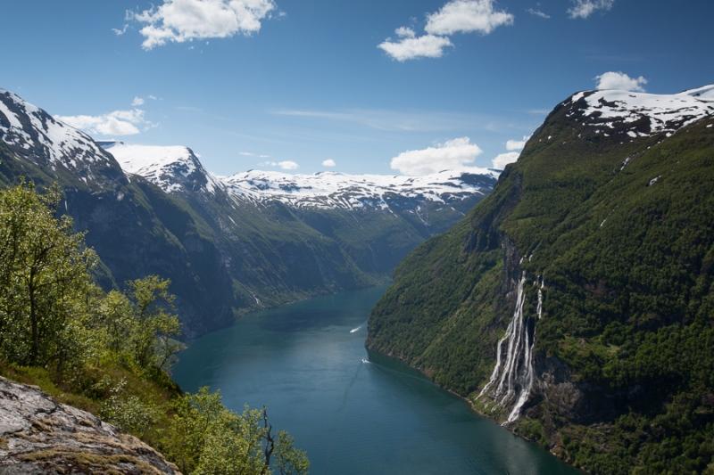 Norwegen 2012 - Geiranger Fjord