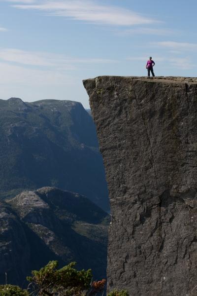 Norwegen 2012 - Preikestolen