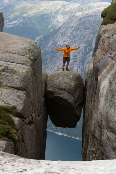 Norwegen 2012 - Kjerag