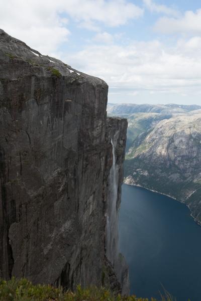 Norwegen 2012 - Kjeragfossen